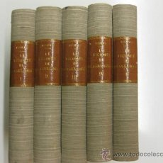 Libros antiguos: LE VICOMTE DE BRAGELONNE . ALEXANDRE DUMAS.5 VOL. CALMAN-LEVY PARIS 1932. Lote 38230521
