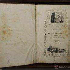 Libros antiguos: 3900- LA MARQUESA DE BELLAFLOR O EL NIÑO DE LA INCLUSA. WENCESLAO AYGUALS. 1847 2 VOL. . Lote 39412878