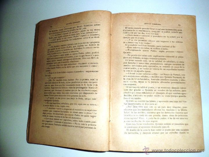 Libros antiguos: QUINTÍN DURWARD. NOVELA HISTÓRICA. SIR WALTER SCOTT (1883) - Foto 17 - 39508632