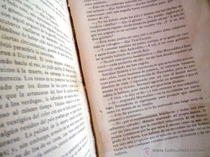 Libros antiguos: QUINTÍN DURWARD. NOVELA HISTÓRICA. SIR WALTER SCOTT (1883) - Foto 14 - 39508632