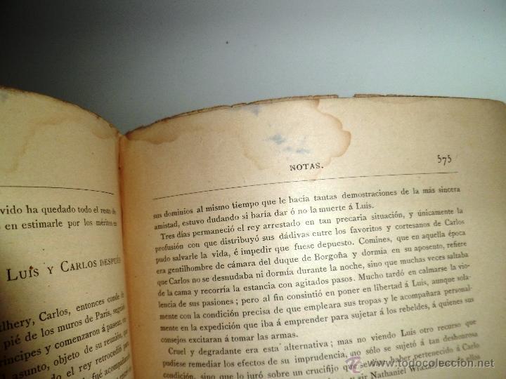 Libros antiguos: QUINTÍN DURWARD. NOVELA HISTÓRICA. SIR WALTER SCOTT (1883) - Foto 7 - 39508632