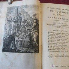 Libros antiguos: DON QUIJOTE DE LA MANCHA .AÑO 1797.. Lote 39876319