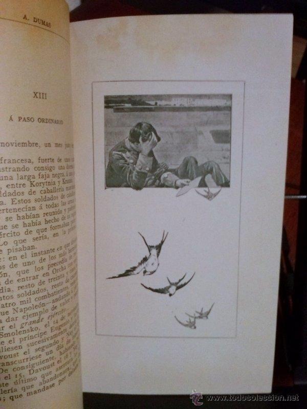 Libros antiguos: ALEJANDRO DUMAS. EL CAPITÁN RICHARD. 1908 - Foto 3 - 39922916