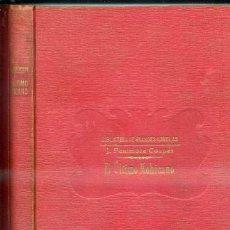 Libros antiguos: FENIMORE COOPER : EL ÚLTIMO MOHICANO (SOPENA). Lote 40181619