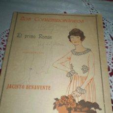 Libros antiguos: EL PRIMO ROMAN JACINTO BENAVENTE 1918. Lote 42034924