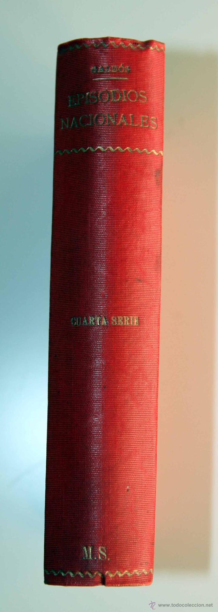 Libros antiguos: GALDÓS. EPISODIOS NACIONALES CUARTA SERIE. CARLOS VI EN LA RÁPITA (1905) LA NUMANCIA (1906) - Foto 3 - 42216433