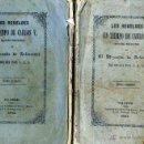 Libros antiguos: VIZCONDE DE ARLINCOURT : LOS REBELDES EN TIEMPOS DE CARLOS V (1851) DOS TOMOS, OBRA COMPLETA. Lote 42570533