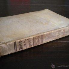 Libros antiguos: QUEVEDO -PARNASO TRES ULTIMAS MUSAS CASTELLANAS 1772. Lote 42834008