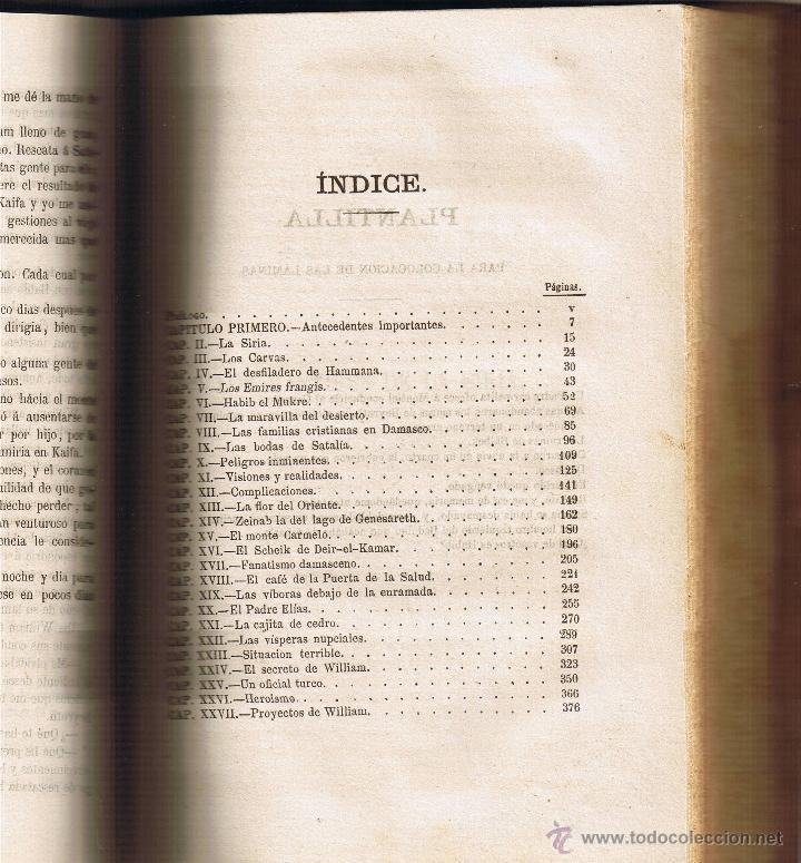 Libros antiguos: LOS MÁRTIRES DE LA SIRIA - PEDRO MATA - 1860 - TOMO I Y II EN EL VOLÚMEN - - Foto 7 - 42970859