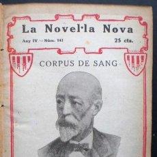 Libros antiguos: MANUEL ANGELÓN: CORPUS DE SANG, IMPREMTA RÀFOLS, 1920. Lote 43336089