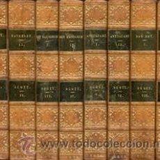 Libros antiguos: WALTER SCOTT – NOVELAS HISTÓRICAS – 8 VOL- AÑO 1836. Lote 43608857