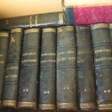 Libros antiguos: 10 TOMOS DE LOS EPISODIOS NACIONALES. BENITO PEREZ GALDOS 1876 1877 Y 1878. Lote 43657321