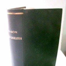 Libros antiguos: PACO GÓNGORA. MUÑOZ Y PABÓN, JUAN F.. Lote 43874314
