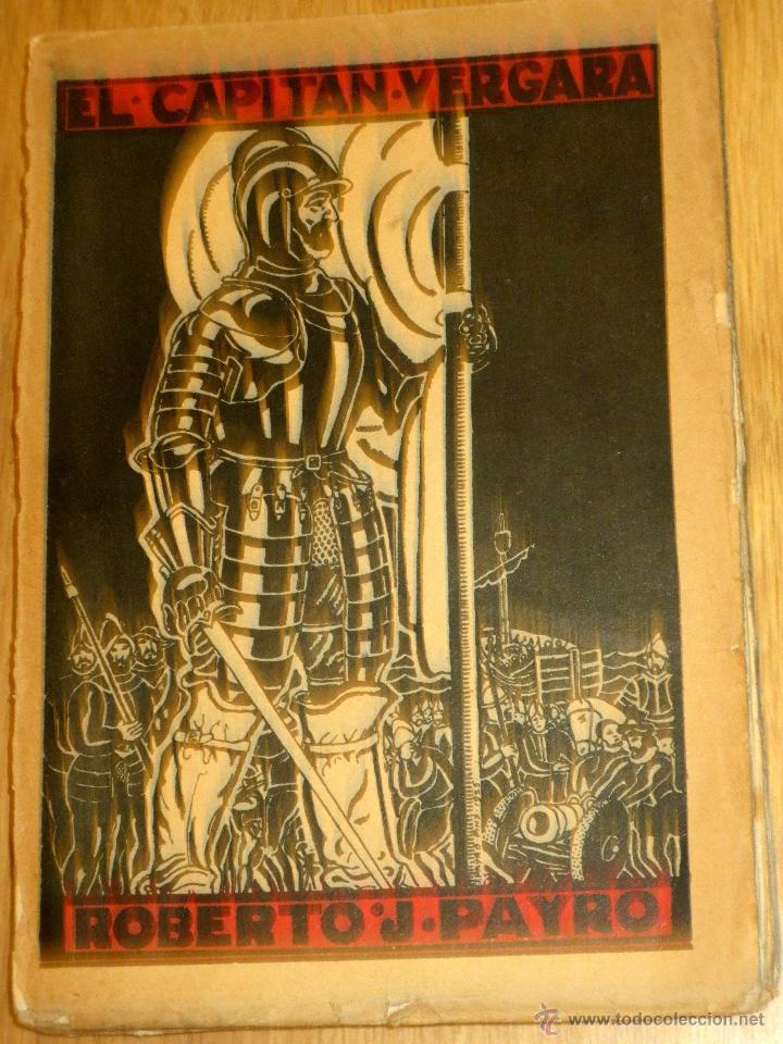 EL CAPITAN VERGARA TOMO 2 ROBERTO J. PAYRÓ AÑO 1925 (Libros antiguos (hasta 1936), raros y curiosos - Literatura - Narrativa - Novela Histórica)