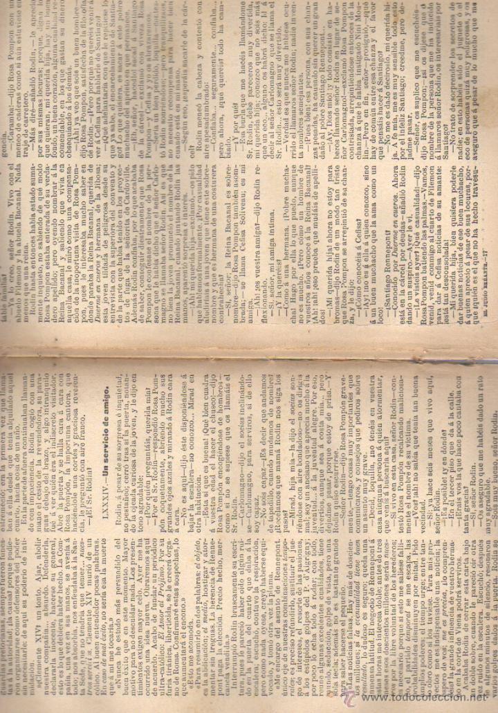 Libros antiguos: libro el judio errante eguenio sue- regalo de el liberal de bilbao -editoria sopena - Foto 3 - 21934470