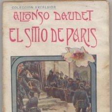 Libros antiguos: EL SITIO DE PARIS - 1905. Lote 45529543