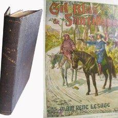 Libros antiguos: HISTORIA DE GIL BLAS DE SANTILLANA. LESAGE, ALAIN-RENÉ. 1935. Lote 45903555
