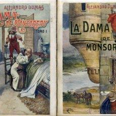 Libros antiguos: ALEJANDRO DUMAS : LA DAMA DE MONSOREAU - DOS TOMOS (SOPENA, 1930). Lote 46207963