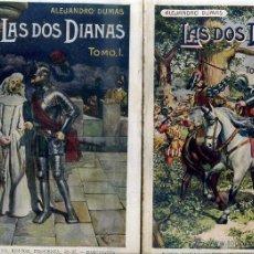 Libros antiguos: ALEJANDRO DUMAS : LAS DOS DIANAS - DOS TOMOS (SOPENA, 1931). Lote 46207990