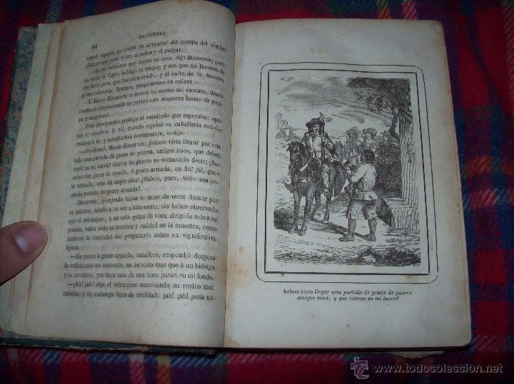 Libros antiguos: LA GUERRA DE LAS MUJERES.ALEJANDRO DUMAS.1ª EDICIÓN 1858. UNA VERDADERA JOYITA.VER FOTOS. - Foto 6 - 46504884