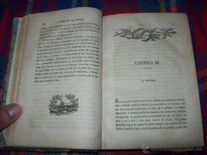 Libros antiguos: LA GUERRA DE LAS MUJERES.ALEJANDRO DUMAS.1ª EDICIÓN 1858. UNA VERDADERA JOYITA.VER FOTOS. - Foto 8 - 46504884