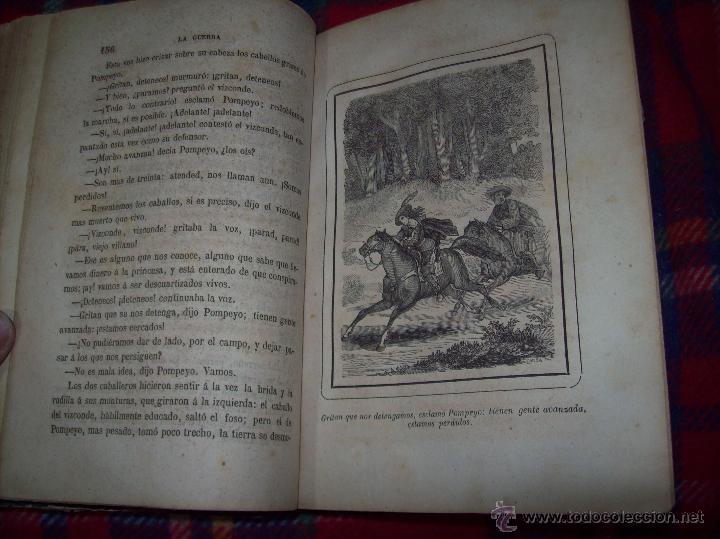 Libros antiguos: LA GUERRA DE LAS MUJERES.ALEJANDRO DUMAS.1ª EDICIÓN 1858. UNA VERDADERA JOYITA.VER FOTOS. - Foto 13 - 46504884