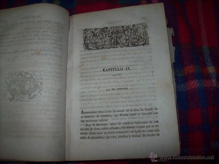 Libros antiguos: LA GUERRA DE LAS MUJERES.ALEJANDRO DUMAS.1ª EDICIÓN 1858. UNA VERDADERA JOYITA.VER FOTOS. - Foto 15 - 46504884