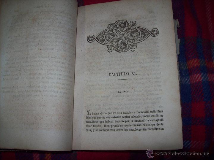 Libros antiguos: LA GUERRA DE LAS MUJERES.ALEJANDRO DUMAS.1ª EDICIÓN 1858. UNA VERDADERA JOYITA.VER FOTOS. - Foto 17 - 46504884