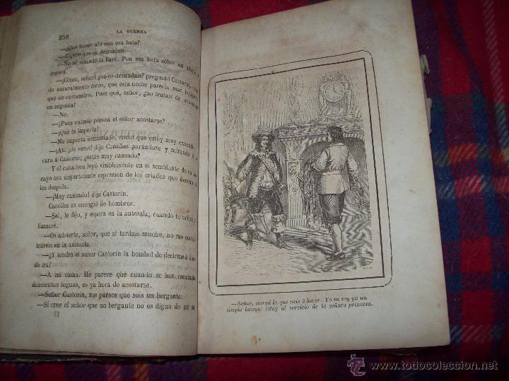 Libros antiguos: LA GUERRA DE LAS MUJERES.ALEJANDRO DUMAS.1ª EDICIÓN 1858. UNA VERDADERA JOYITA.VER FOTOS. - Foto 18 - 46504884