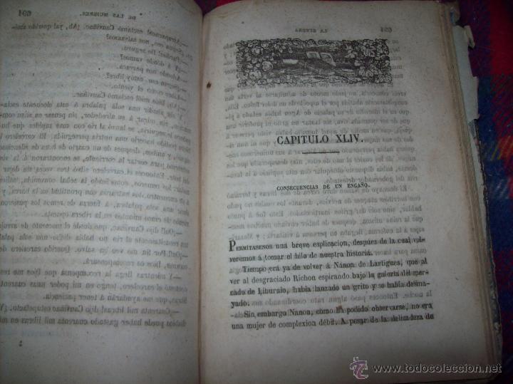 Libros antiguos: LA GUERRA DE LAS MUJERES.ALEJANDRO DUMAS.1ª EDICIÓN 1858. UNA VERDADERA JOYITA.VER FOTOS. - Foto 31 - 46504884