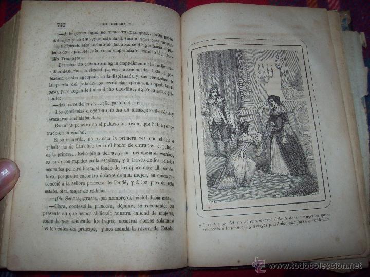 Libros antiguos: LA GUERRA DE LAS MUJERES.ALEJANDRO DUMAS.1ª EDICIÓN 1858. UNA VERDADERA JOYITA.VER FOTOS. - Foto 36 - 46504884