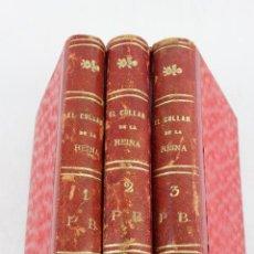 Libros antiguos: L- 418. EL COLLAR DE LA REINA.3 LIBROS. ALEJANDRO DUMAS. AÑO 1891.TRADUCC DE ENRIQUE L. DE VERNEUIL.. Lote 46769460