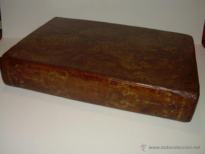 Libros antiguos: ANTIGUO LIBRO TAPAS DE PIEL......INQUISICION MILITAR.........AÑO..1.856 - Foto 2 - 47203014
