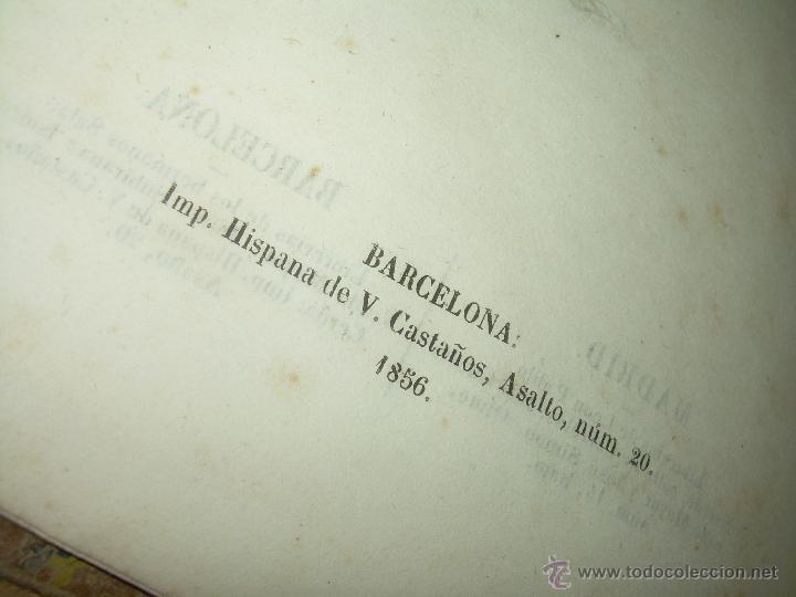 Libros antiguos: ANTIGUO LIBRO TAPAS DE PIEL......INQUISICION MILITAR.........AÑO..1.856 - Foto 5 - 47203014