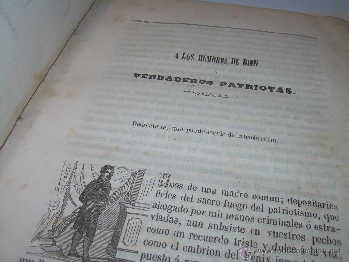 Libros antiguos: ANTIGUO LIBRO TAPAS DE PIEL......INQUISICION MILITAR.........AÑO..1.856 - Foto 6 - 47203014