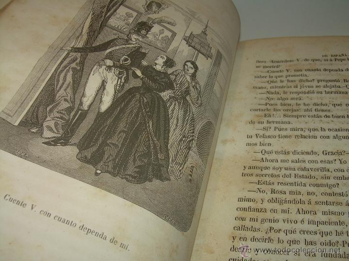 Libros antiguos: ANTIGUO LIBRO TAPAS DE PIEL......INQUISICION MILITAR.........AÑO..1.856 - Foto 8 - 47203014