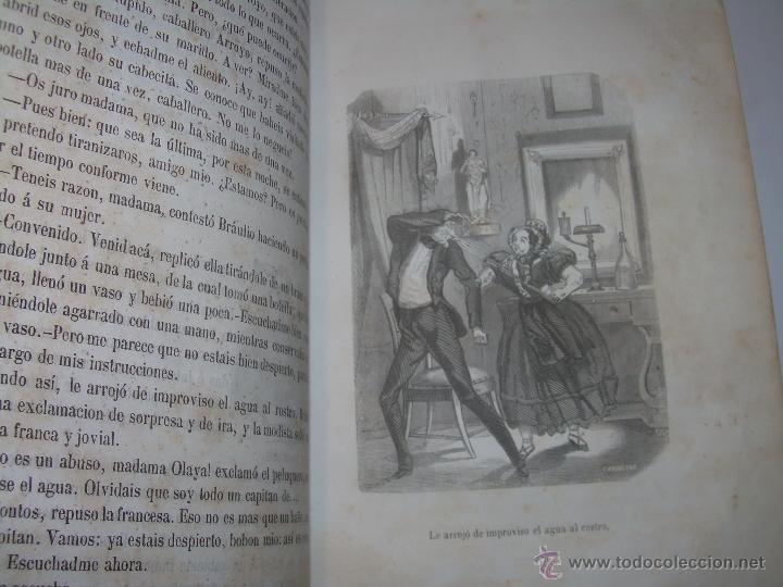 Libros antiguos: ANTIGUO LIBRO TAPAS DE PIEL......INQUISICION MILITAR.........AÑO..1.856 - Foto 9 - 47203014
