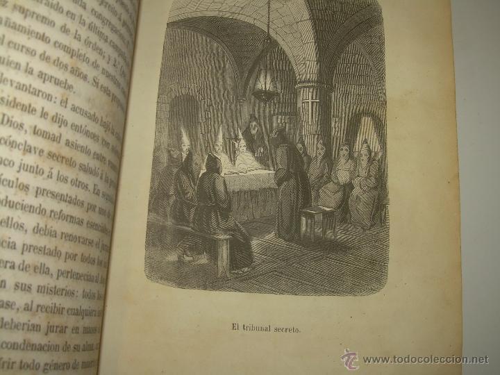 Libros antiguos: ANTIGUO LIBRO TAPAS DE PIEL......INQUISICION MILITAR.........AÑO..1.856 - Foto 11 - 47203014