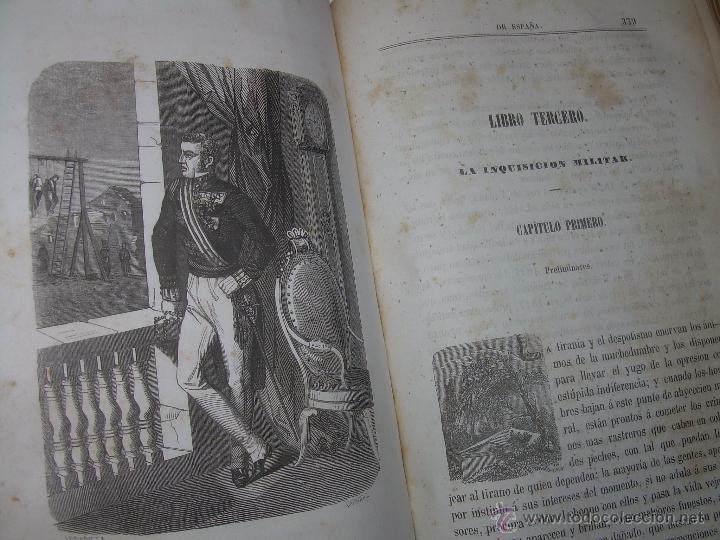 Libros antiguos: ANTIGUO LIBRO TAPAS DE PIEL......INQUISICION MILITAR.........AÑO..1.856 - Foto 12 - 47203014