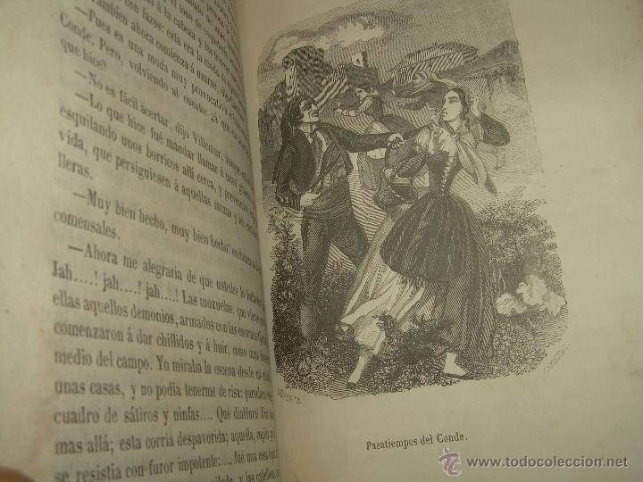 Libros antiguos: ANTIGUO LIBRO TAPAS DE PIEL......INQUISICION MILITAR.........AÑO..1.856 - Foto 14 - 47203014