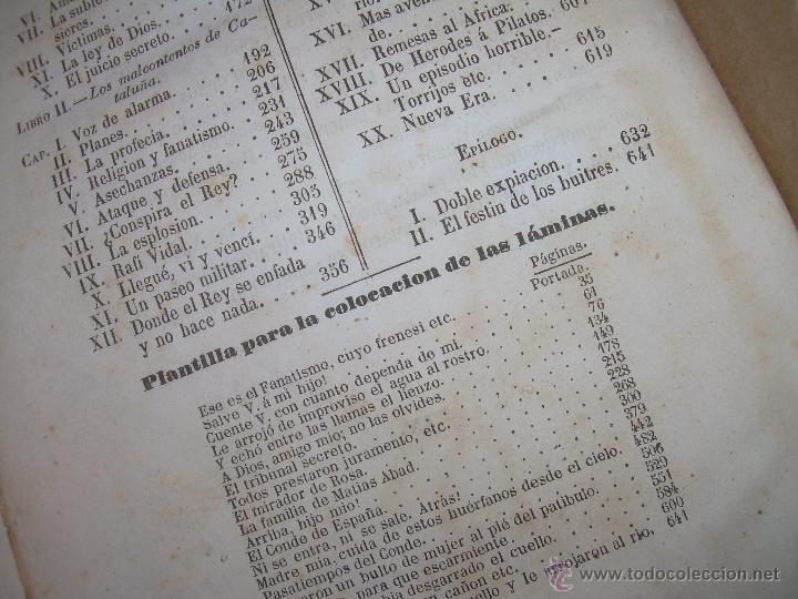 Libros antiguos: ANTIGUO LIBRO TAPAS DE PIEL......INQUISICION MILITAR.........AÑO..1.856 - Foto 16 - 47203014