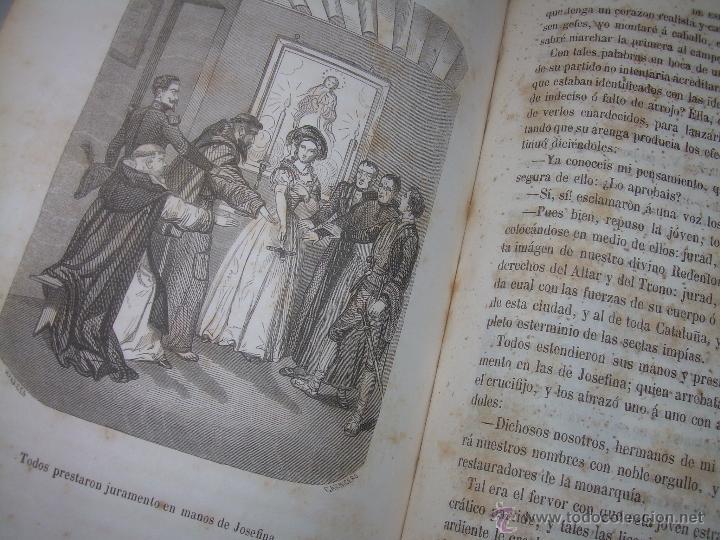 Libros antiguos: ANTIGUO LIBRO TAPAS DE PIEL......INQUISICION MILITAR.........AÑO..1.856 - Foto 18 - 47203014