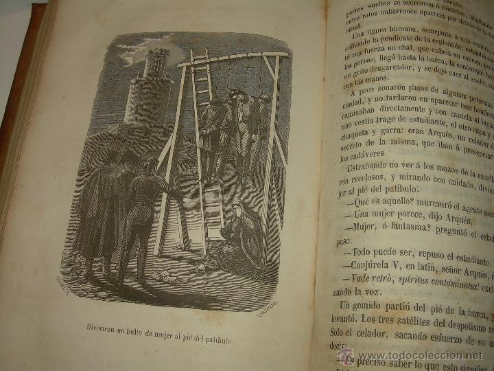 Libros antiguos: ANTIGUO LIBRO TAPAS DE PIEL......INQUISICION MILITAR.........AÑO..1.856 - Foto 19 - 47203014