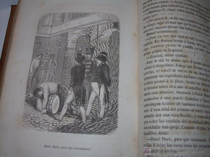 Libros antiguos: ANTIGUO LIBRO TAPAS DE PIEL......INQUISICION MILITAR.........AÑO..1.856 - Foto 20 - 47203014