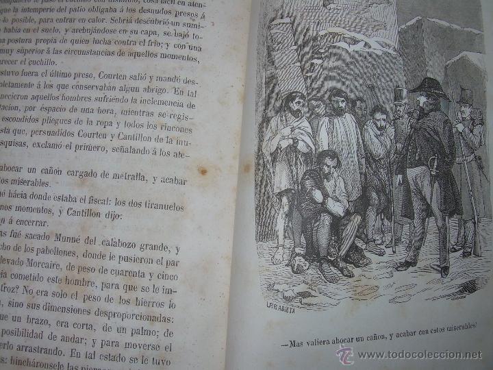 Libros antiguos: ANTIGUO LIBRO TAPAS DE PIEL......INQUISICION MILITAR.........AÑO..1.856 - Foto 22 - 47203014