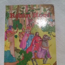 Libros antiguos: ROBIN HOOD-VERSIÓN ÍNTEGRA-TEXTO GOZALO ZARAGORA-8 LÁMINAS COLOR-163 PAG-ED, GAVIOTA. Lote 47980778