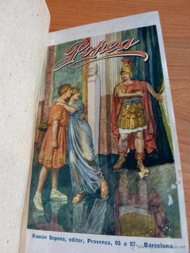 POPEA DE PEDRO PEDRAZA Y PAEZ, NOVELA HISTORICA (Libros antiguos (hasta 1936), raros y curiosos - Literatura - Narrativa - Novela Histórica)