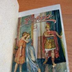 Libros antiguos: POPEA DE PEDRO PEDRAZA Y PAEZ, NOVELA HISTORICA. Lote 48003230
