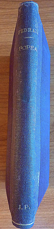 Libros antiguos: Popea de Pedro Pedraza y Paez, Novela historica - Foto 3 - 48003230