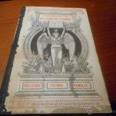 Libros antiguos: FRAGMENTOS DE LITERATURA ESPAÑOLA 1912. Lote 48208195